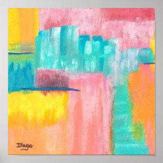 Dreamscape Abstract Art Print Original Painting