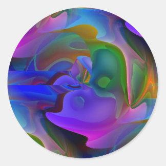 Dreamscape Classic Round Sticker