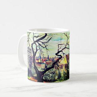 Dreamscape Luxembourg bohemian city Coffee Mug