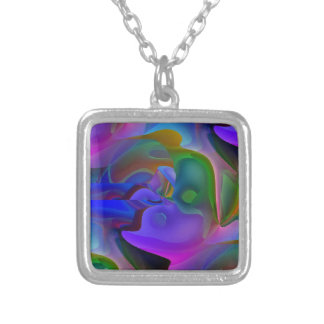 Dreamscape Silver Plated Necklace
