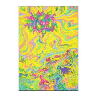 Dreamscaped Swamp-garden 1 Canvas Print