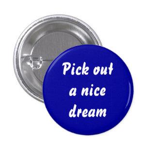 dreamweaver 3 cm round badge