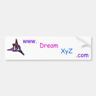 DreamXyZ com Bumper Sticker