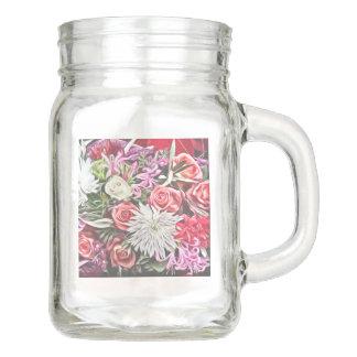 Dreamy Blossoms 1 Mason Jar