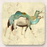 Dreamy Blue Camels Coaster