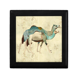 Dreamy Blue Camels Gift Box
