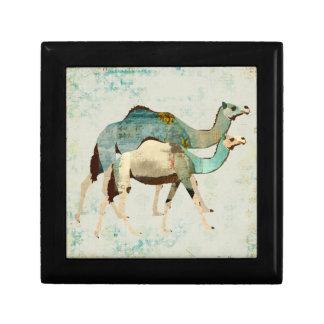 Dreamy Blue Camels II Gift Box