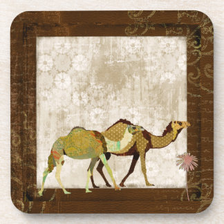 Dreamy Camels Cork Coaster