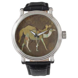 Dreamy Camels Damask Watch