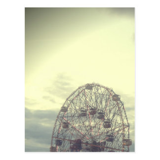 Dreamy Carnival Ferris Wheel Postcard