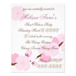 Dreamy Cherry Blossom Invitations