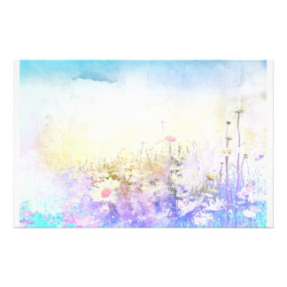 Dreamy daisies personalised stationery