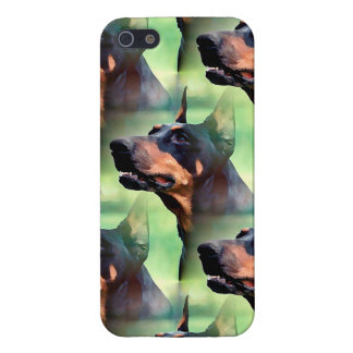 Dreamy Doberman Painting iPhone 5/5S Cases