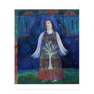 Dreamy  Ethereal Angel Postcard