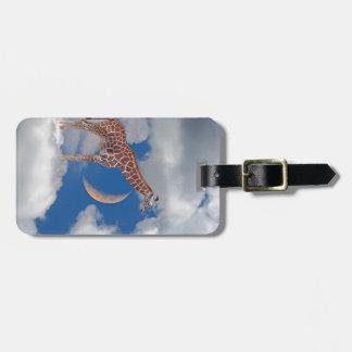Dreamy Giraffe Luggage Tag