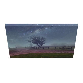 dreamy heavenly moors canvas print
