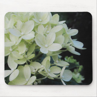 Dreamy Hydrangea Floral Mouse Pad