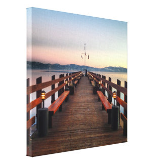 Dreamy Lake Tahoe Canvas Print