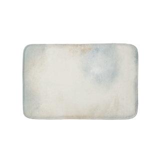 Dreamy Light Blue, Cream And Gold | Bath Mat