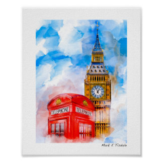 Dreamy London - Small Poster
