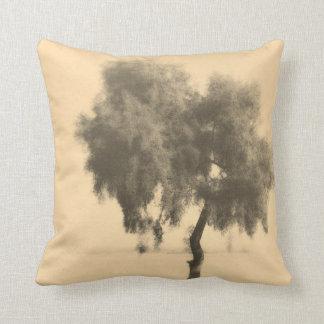 Dreamy Romantic Tree Sketch Cushion