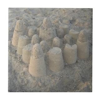dreamy sandcastle ceramic tile