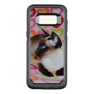 Dreamy Siamese Cat Hearts OtterBox Commuter Samsung Galaxy S8 Case