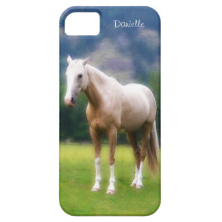 Dreamy  Soft Palomino Horse Painted Look iPhone 5 Cases