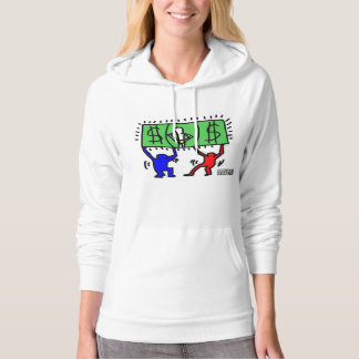 DreamySupply Cash Rules Everything Women Hoodie