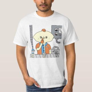 DreamySupply JUICE FACTORY Men's White T-Shirt