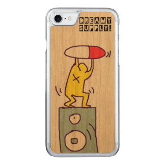 DreamySupply Pill Party IPhone 7 Wooden Case