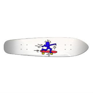 DreamySupply Pop Art SkateBoard Man Long Board