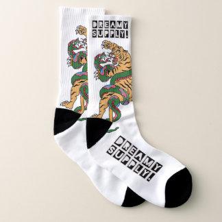 DreamySupply The Tiger & The Serpent Cotton Socks