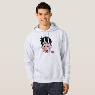 DreamySupply Tongue Out Men's Grey Light Hoodie