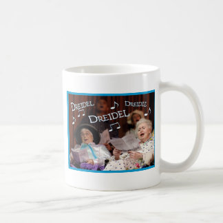 Dreidel Dreidel Dreidel Classic White Coffee Mug
