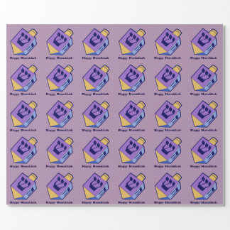 dreidel for Hanukkah wrap Wrapping Paper