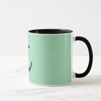 Drenched In Seafoam - Anchor Mug