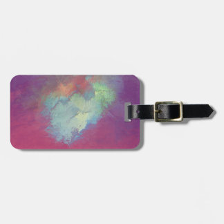 drenched in what you seek luggage tag