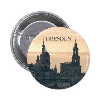 Dresden at Sunset Pinback Buttons