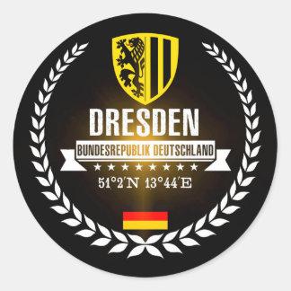 Dresden Classic Round Sticker