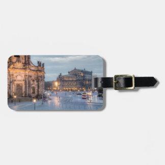 Dresden Semper Oper Luggage Tag