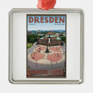 Dresden - Semper Oper Metal Ornament