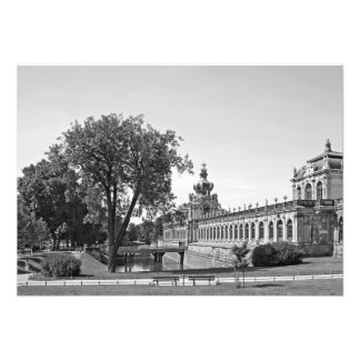 Dresden. Zwinger. Crown Gates Photo Print