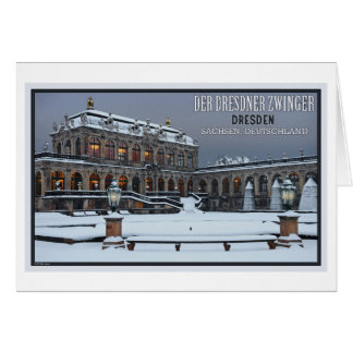 Dresden - Zwinger Palace Winter LS Card