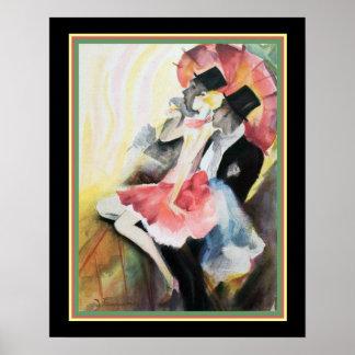 """""""Dress Ball"""" Art Deco Print - Josef Fenneker 16x20"""