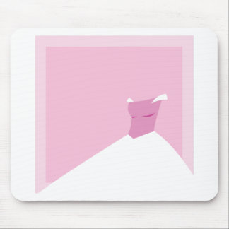 Dress: Fairytale Wedding in pink Mouse Pad