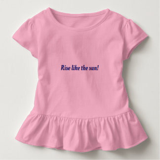 Dress for girls with Inspiring Quote