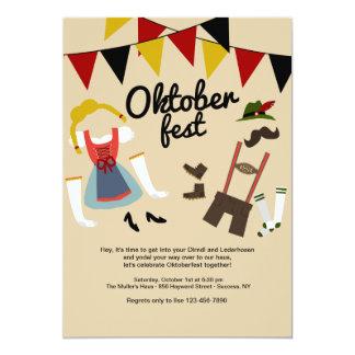 Dress for Oktoberfest Invitation