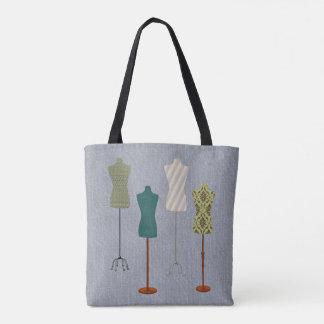 Dress Form Design Tote Bag