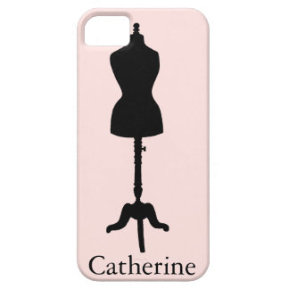 Dress Form Silhouette II iPhone 5 Cover
